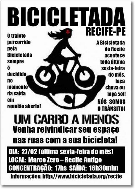 Bicicletada fev